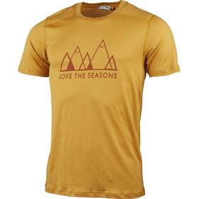 Lundhags Merino Light Fjell T-shirt Homme, gold